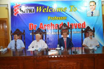 01.Prof Arshad Javed VC KMU along with Prof Daud Khan and Prof Hafizullah Ex VCs during Welcome party sitting on stage (Custom)1501818081.JPG