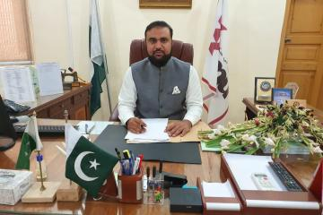 02.Prof Dr Zia Ul Haq Assume the Charge of Acting Vice Chancellor KMU1595834526.jpg