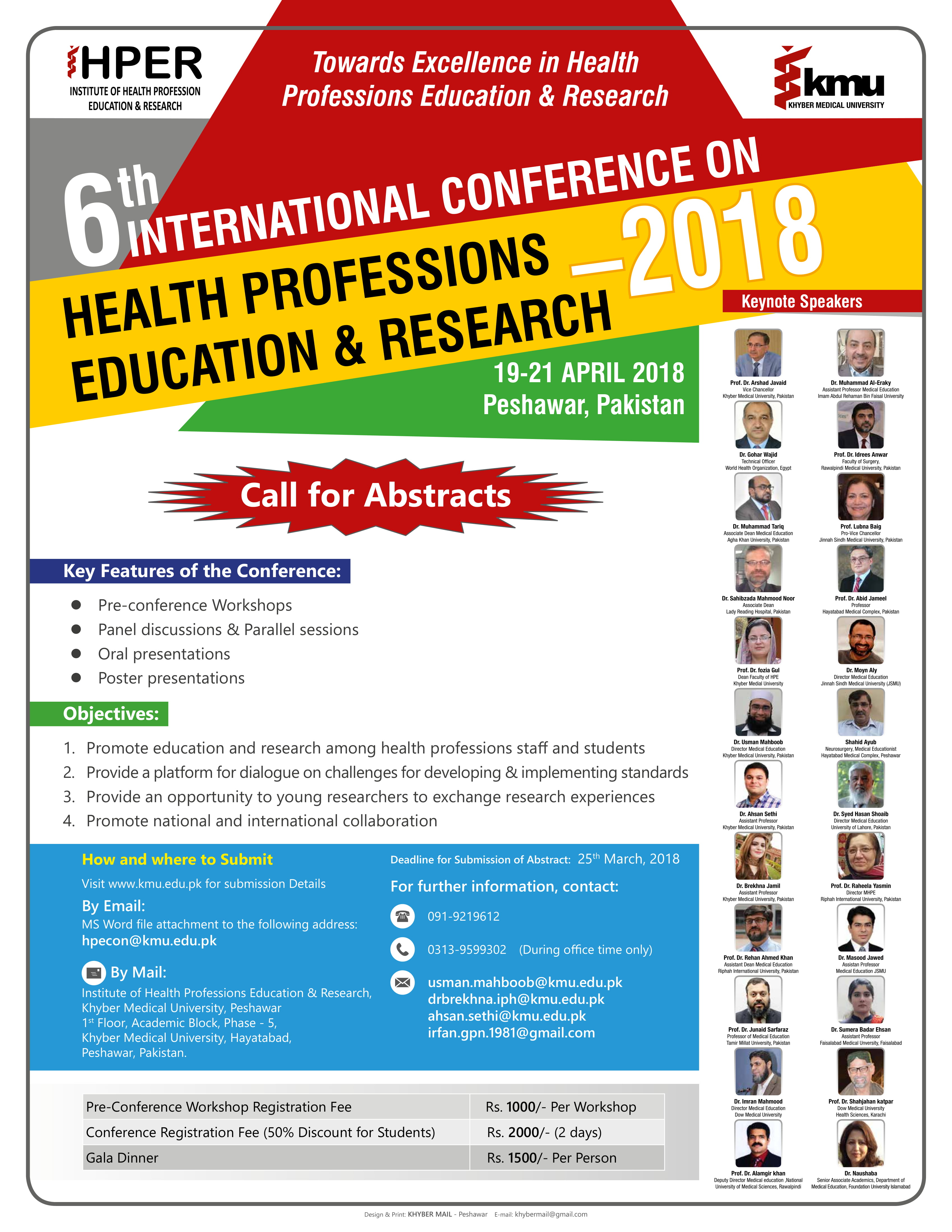 6th International Conference on Health Professions Education